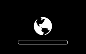 mac Startbildschirm Globus