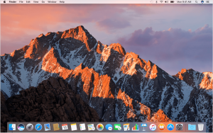 Mac Sierra Desktop